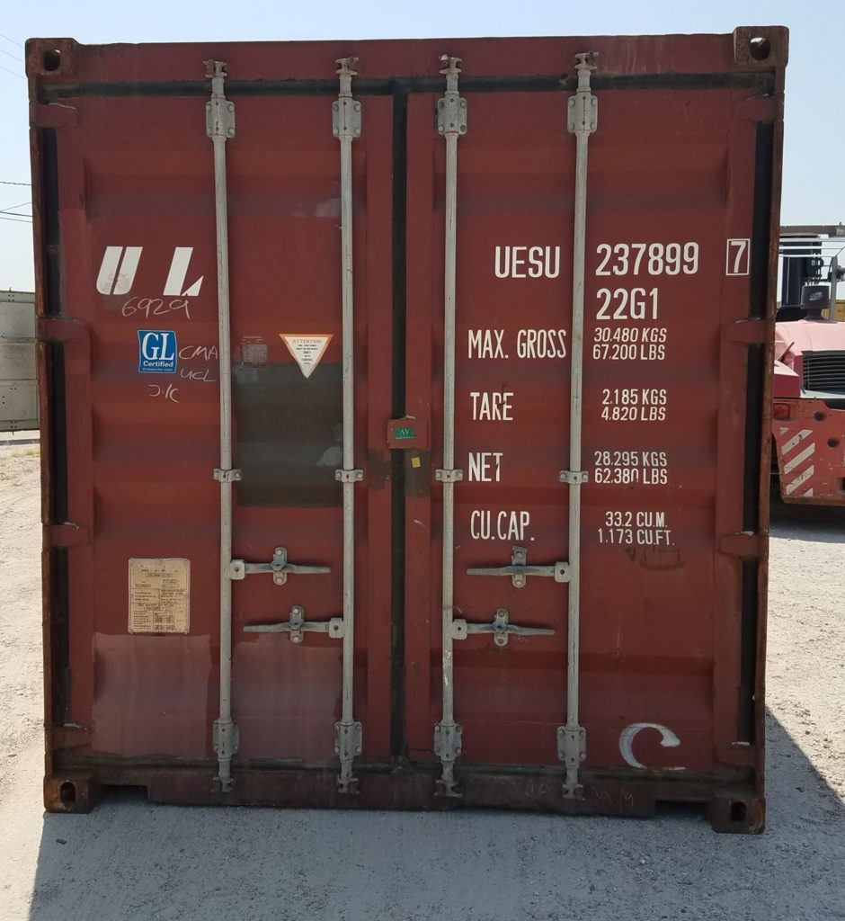 20 foot Standard Shipping Container in Houston, Texas